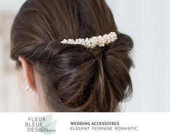 wedding hair comb | bridal hair comb with pearls | pearl hair comb | hair comb for wedding | hair wedding headpiece | pearl headpiece