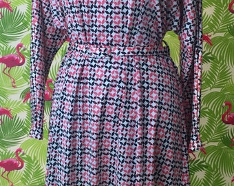 Vintage mid 1970's Osti Australia dress XL