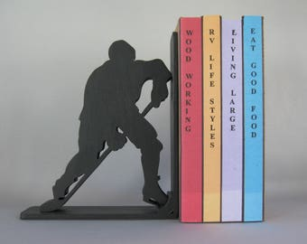 Ice Hockey Bookend