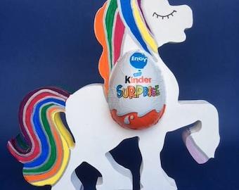 Unicorn Easter Egg Holder kinder Egg