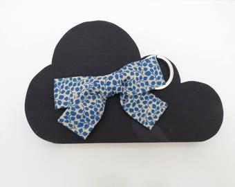 Door key-pendant tissu_accessoires woman bow bag