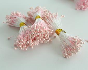 Light Pink Artificial Flower Stamen  STMLC-0303