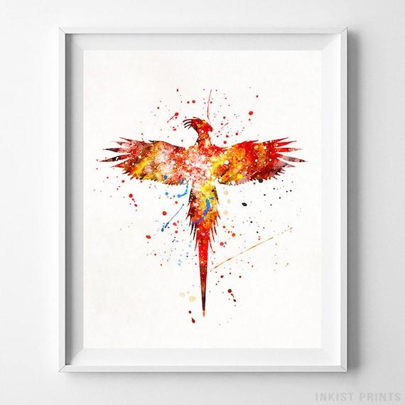 Harry Potter Art Paint Splatter