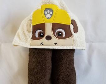 Rubble Hooded Towel