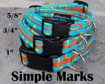 StitchPet Dog and Pet Collars - Simple Marks