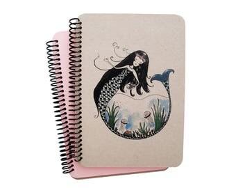 Mermaid Series Spiral Notebook 3