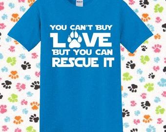 Animal Rescue Shirt Dog Shirt Cat Shirt Animal Lover Pet Lover Shirt Dog Lover Cat Lover  Animal Rescue Animal Lover Gift 5000