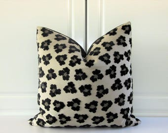 Osborne & Little Decorative Pillow Cover-Lorca Africa Collection-Velvet-Animal Print-20x20-Only One!