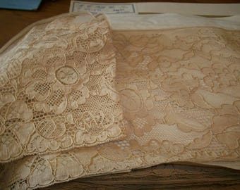 Antique lace by the yard alencon lace french origin 1920