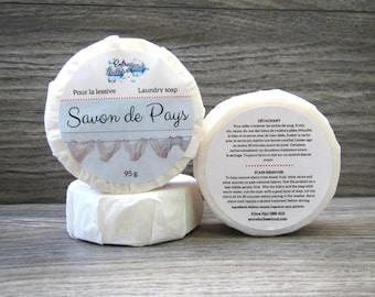 Savon détachant pour tissus savon habitant -savon du pays