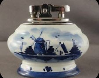 antique Delft Lighter