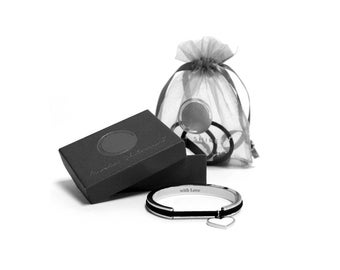 With Love Gift Set - Hair Tie Bracelet - Great Gift Idea for Her!
