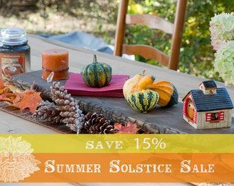 15% OFF SUMMER SALE!! Rustic Table Riser / Table Centerpiece / Centerpiece / Wedding Centerpiece / Wood Riser / Dark Walnut Finish