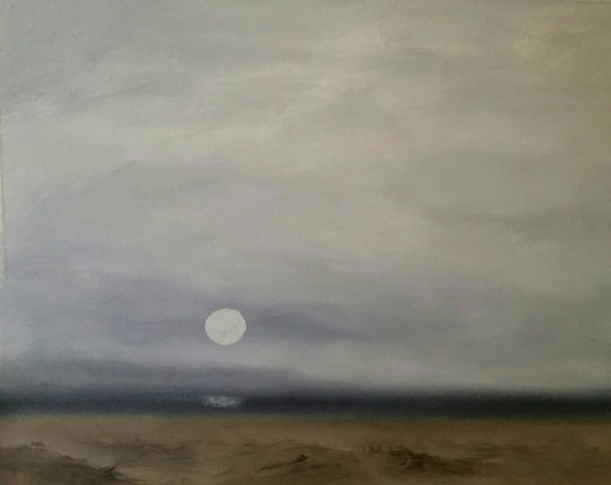 Sea Mist - Unframed - Oil On Paper