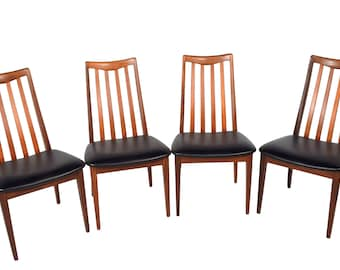 Set Of 4 Teak Dining Chairs By G Plan