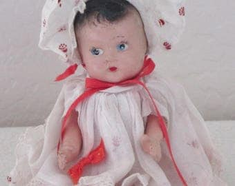 Vintage Composition Doll All Original