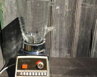 Vintage Osterizer Galaxie 16 speed retro Oster blender