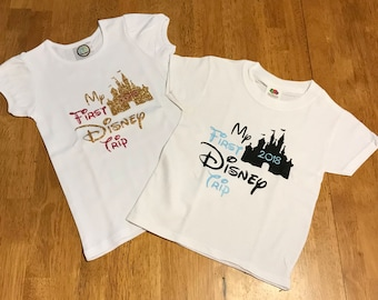 My First Disney Trip Shirt