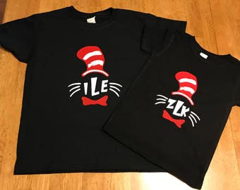 Monogram Dr. Seuss Shirts
