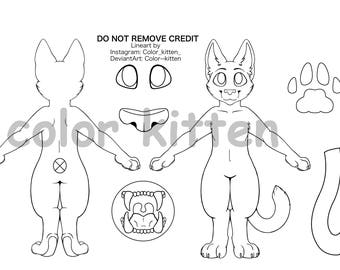 House Cat Lineart M