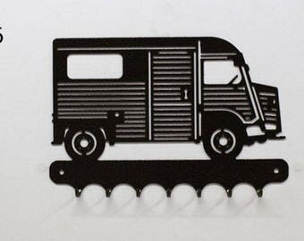 Hangs 26 cm pattern metal keys: Citroen HY (tube)