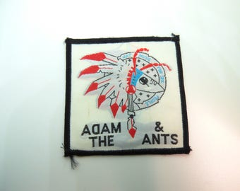 Vintage 80s Adam and the Ants - Ant Music for Sex People Deadstock / Never Worn Sew On Patch