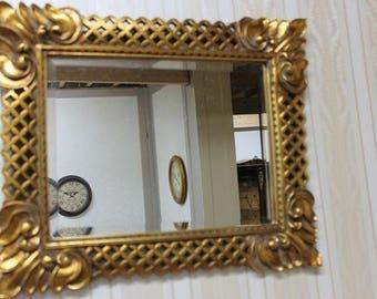 Baroque mirror wall mirror antique style AfPu094
