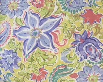 Bright Lilly With Palm Beach Stlye - Upholstery Fabric by The Yard