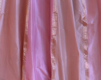 Designers Guild Fabrics,Pink And Gold Striped Silk Curtain Fabric, From  Jane Hall Design
