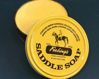 Fiebings Saddle Soap 12oz Leather Care