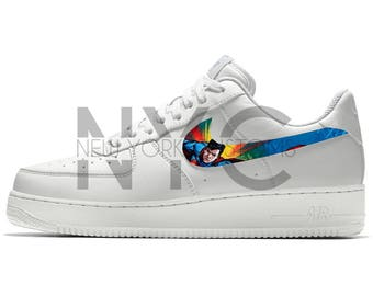 Superman Nike Air Force 1 Custom Men Women & Kids