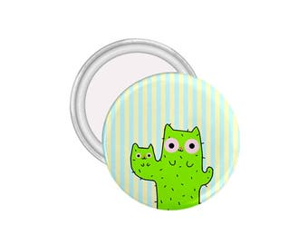 Cactus Pin-Cat Pin-Plant-Cactus-Small Cute Gifts-Cat Lady Gift-Gift for Her
