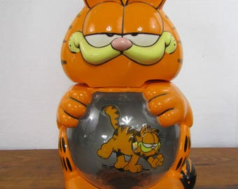 Very large vintage Garfield light up aquarium 1978