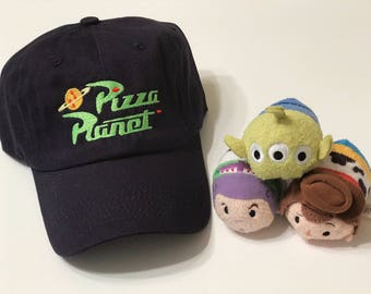 Pizza planet toy story inspired cap