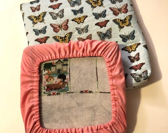 Beautiful Butterflies 8x8 Project Bag and Grime Guard