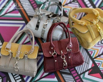 Satchel Bags for MSD BJD, MNF, Luts Kid Delf [Color Choice]
