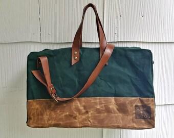 Waxed // Canvas // Weekender // Duffle Bag // Overnighter Bag //