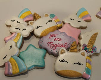unicorn cookies   12