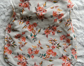 Floral Full Body Bib;Toddler;9months+