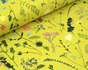 Art Gallery Fabric  - Esoterra Collection - Plantae Sunrise  - Cotton Jersey