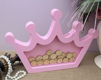 Crown Reward Drop Box, Birthday Gift, Kids Reward Drop Box, Reward System, Children Reward Chart Drop Box, Good Behaviour Reward Jar