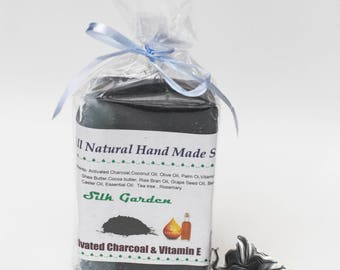 Activated Charcoal and Vitamin E Soap