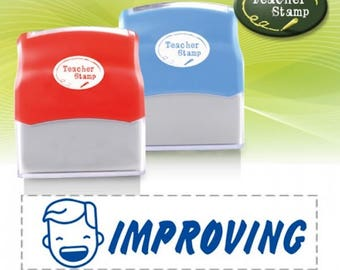 Self-Inking Teacher Stamp - Improving - DS011