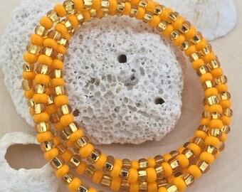 Golden Sunset Waist Beads