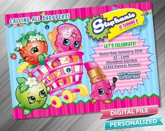 shopkins birthday invitations printable