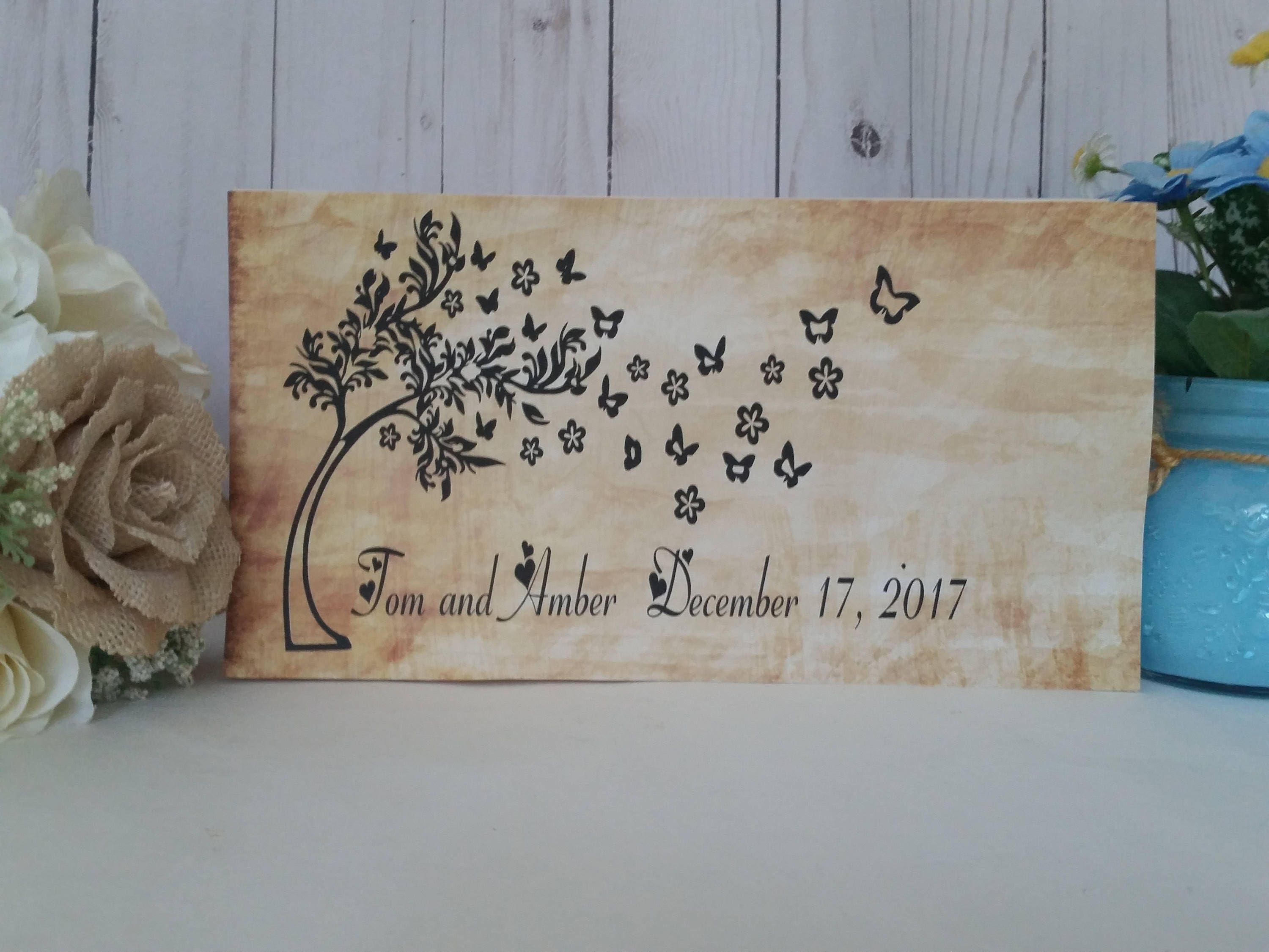 personalized last name sign, wedding name sign, wood name sign