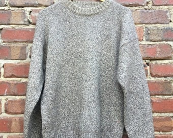 ON SALE Vintage Sand Knitted Sweater