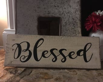 """Wall Decor """"Blessed"""""""