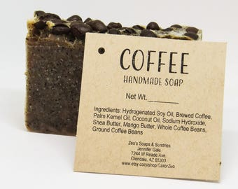 Coffee Handmade Cold Process Soap