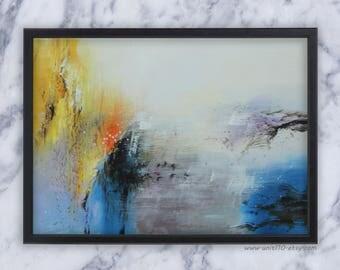 Abstract I-II  - Original Acrylic Painting